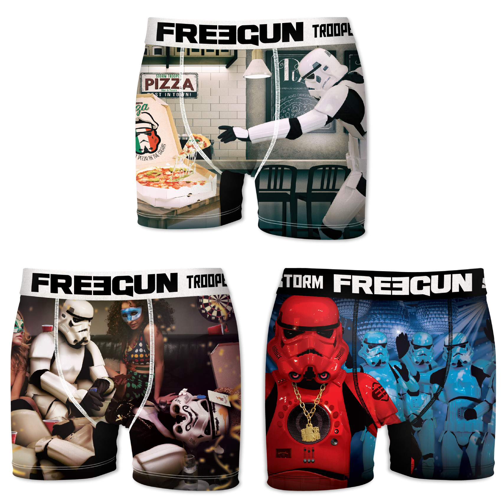 Boxers homme microfibre packx3 freegun star wars storm trooper e1