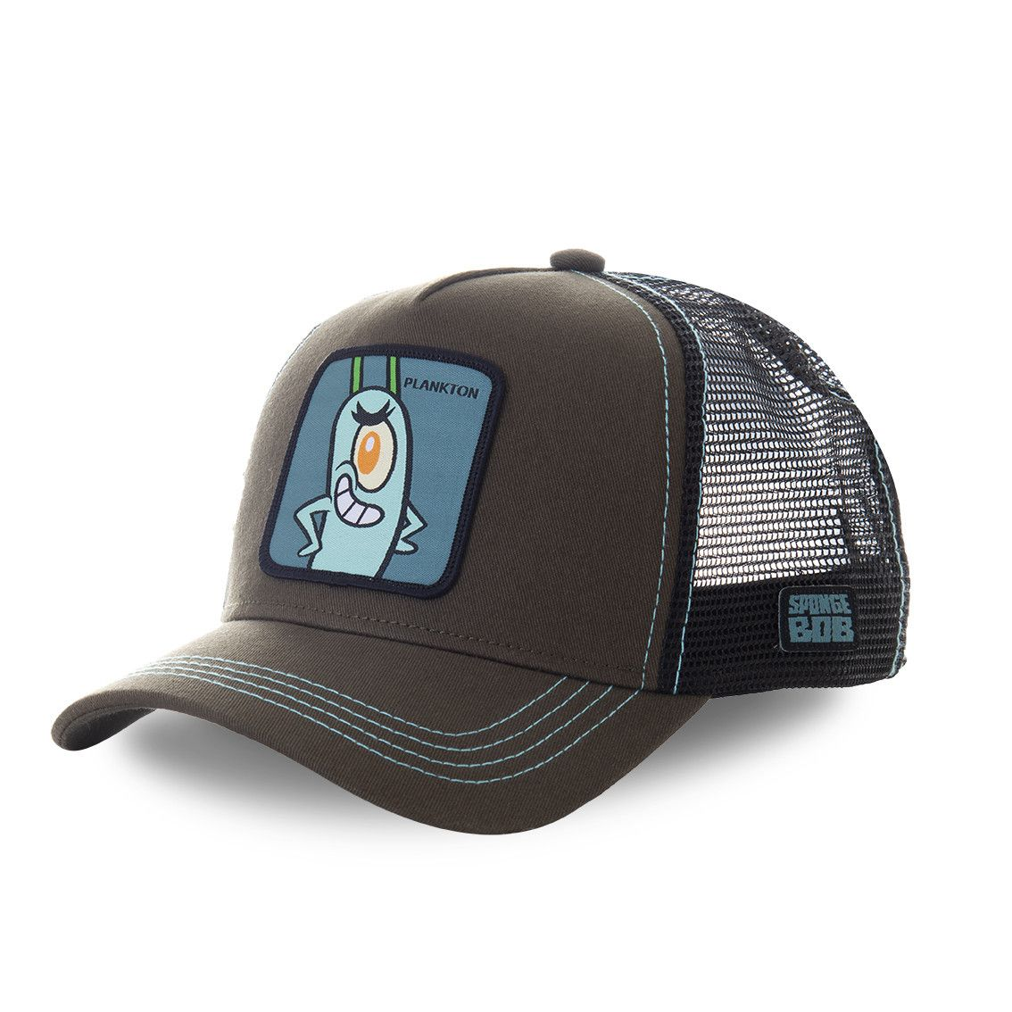 Casquette trucker capslab bob l'éponge plankton