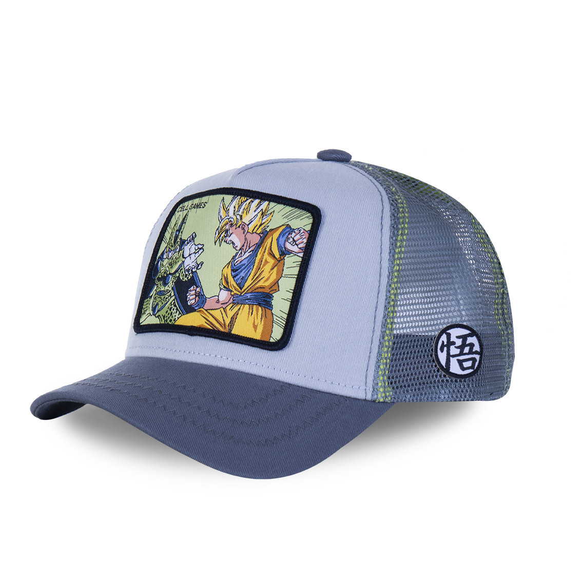 Casquette capslab dragon ball z 2 cell games bleu (photo)