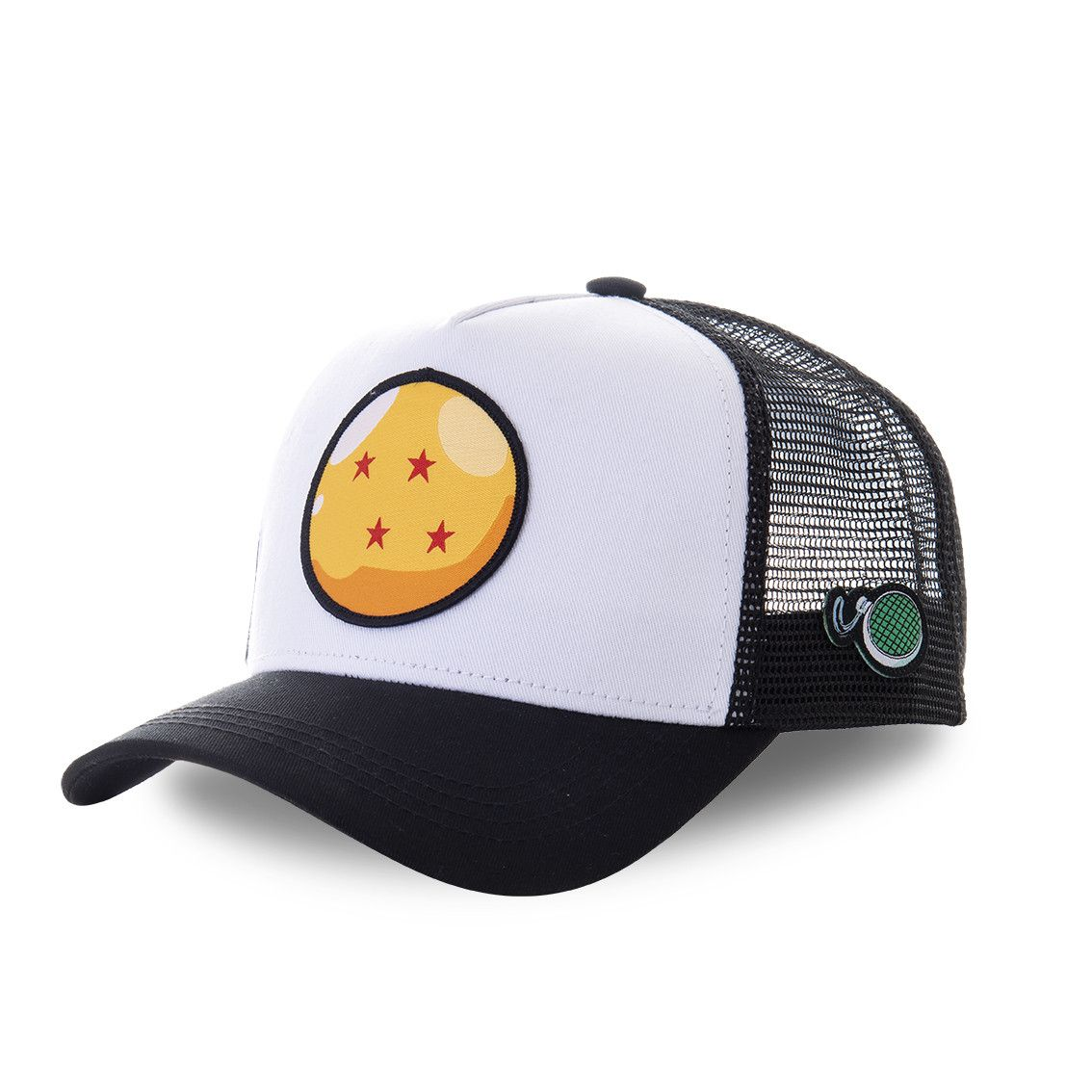 Casquette capslab dragon ball z 3 cristal blanc (photo)