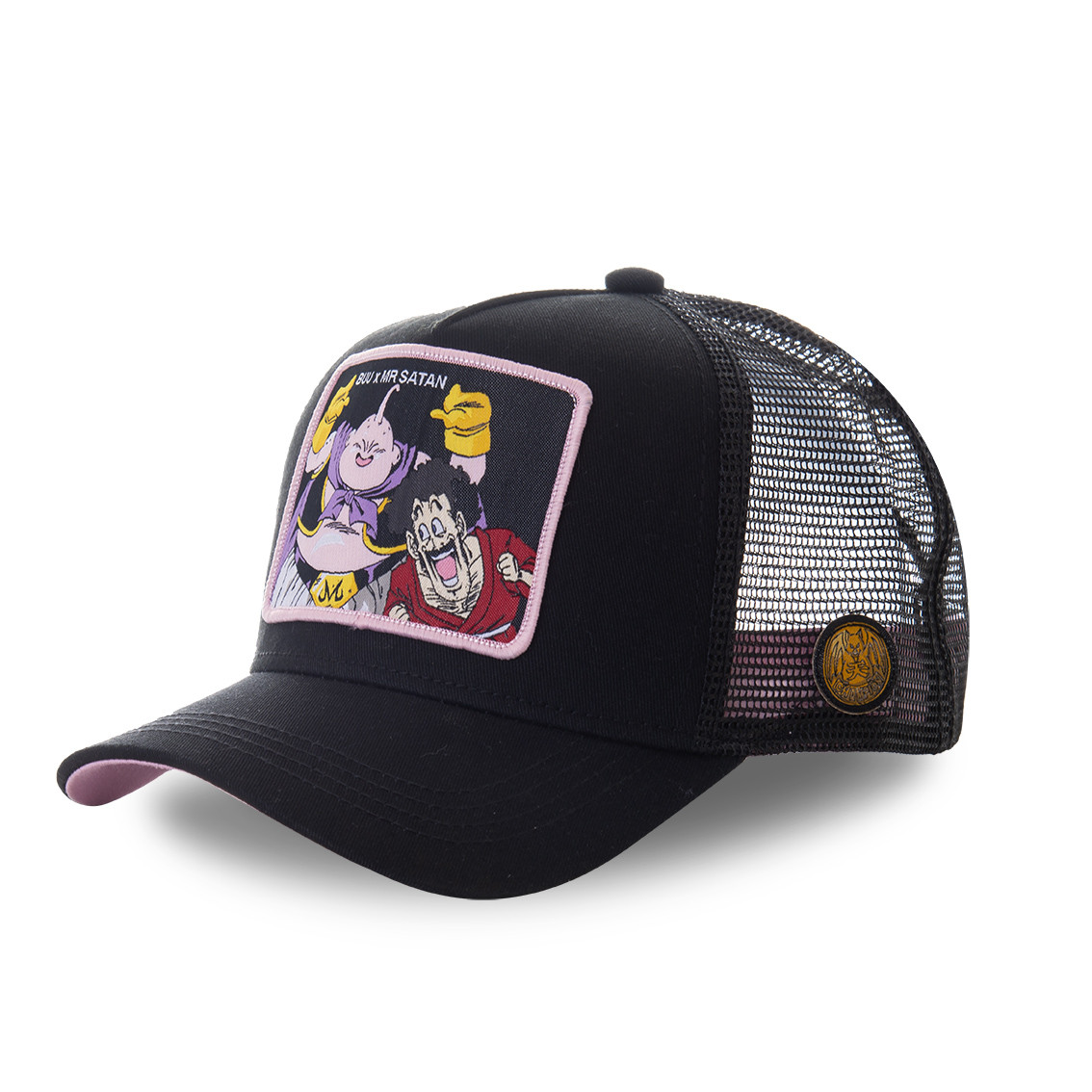 Casquette capslab dragon ball z 3 buu x mr satan noir (photo)
