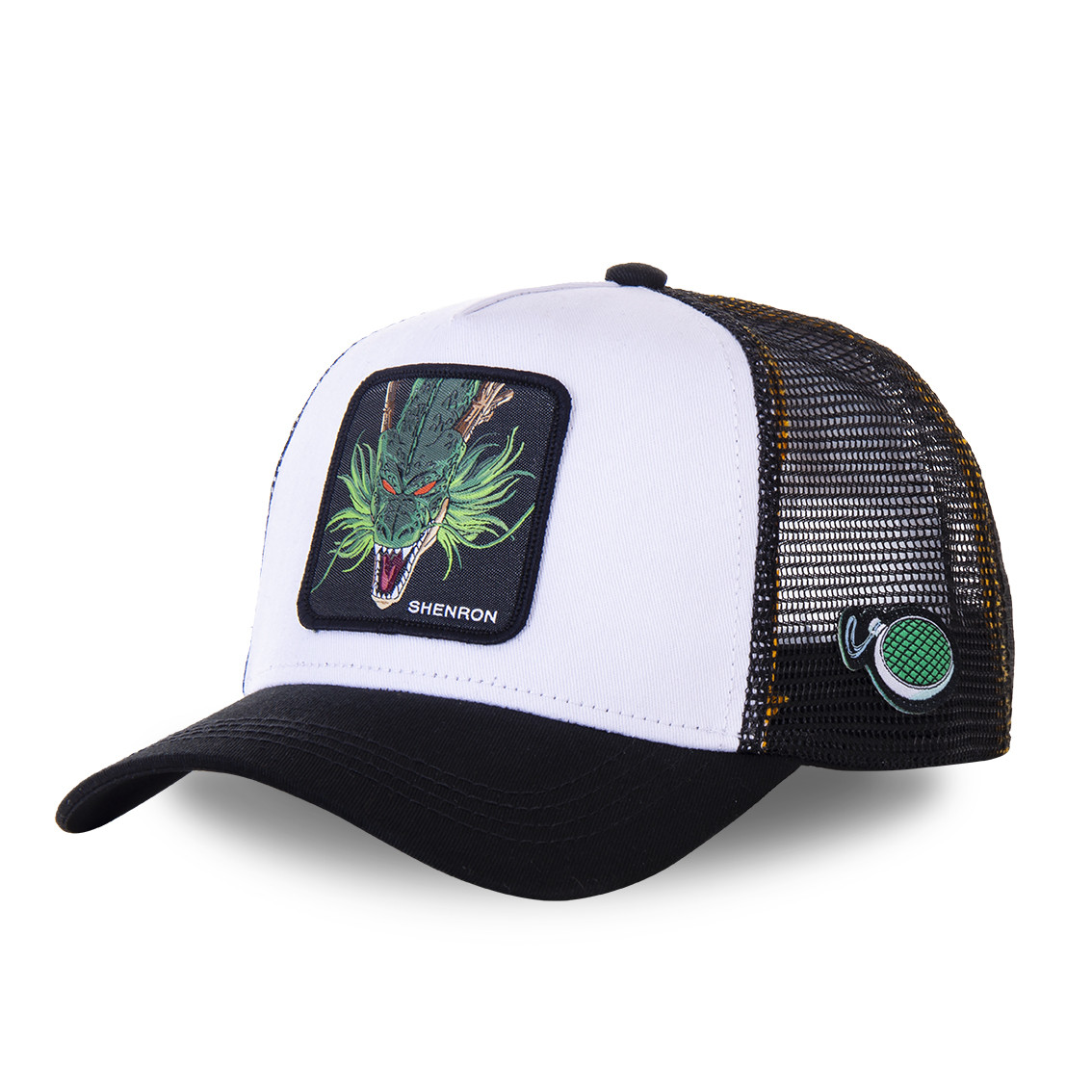 Casquette capslab dragon ball z 3 shenron blanc (photo)