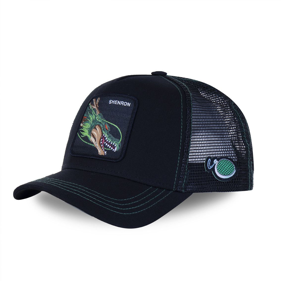 Casquette capslab dragon ball z 3 shenron noir (photo)