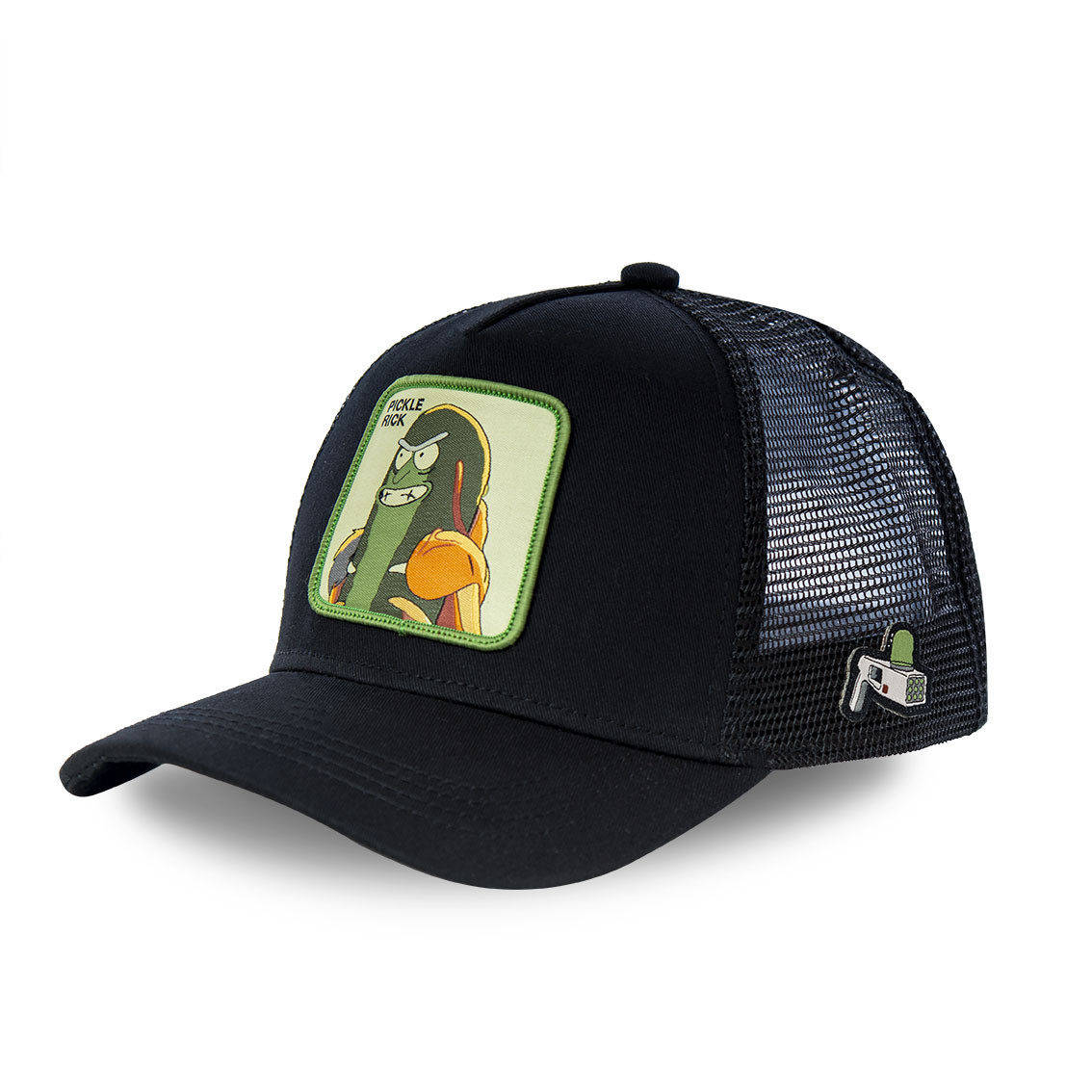 Casquette capslab ricky et morty pickle rick noir (photo)