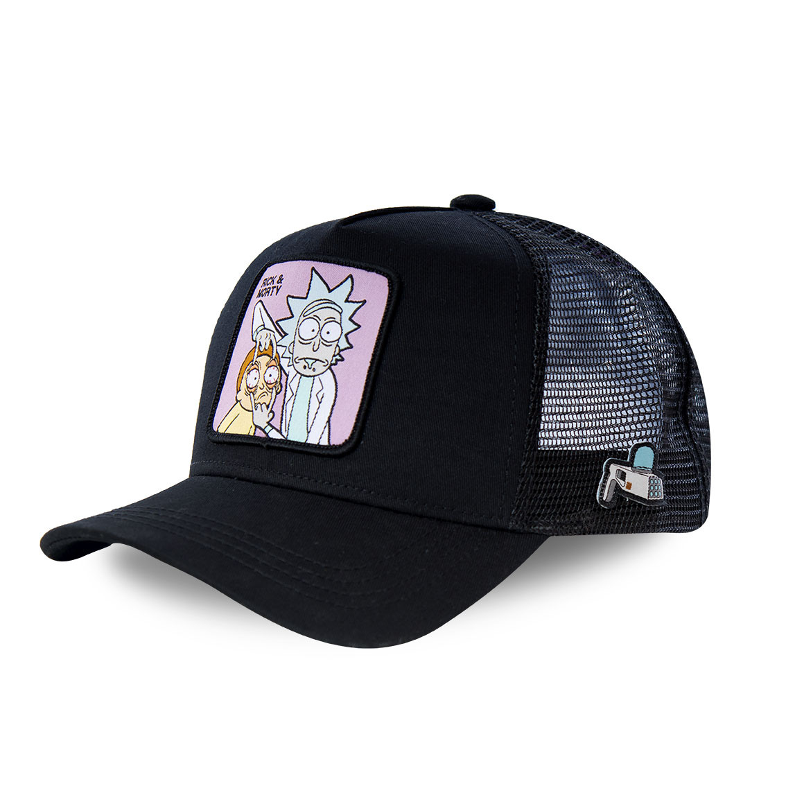 Casquette capslab morty noir (photo)