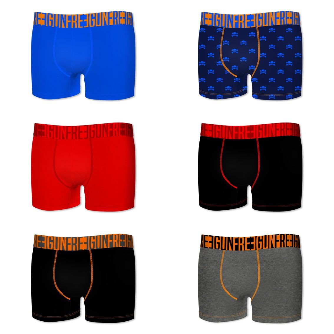 Lot de 6 boxers homme colors g1 (photo)