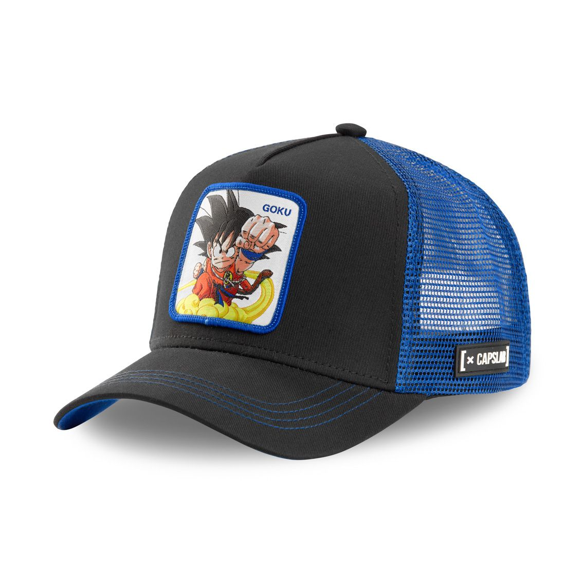 Casquette capslab dragon ball goku noir et violet (photo)