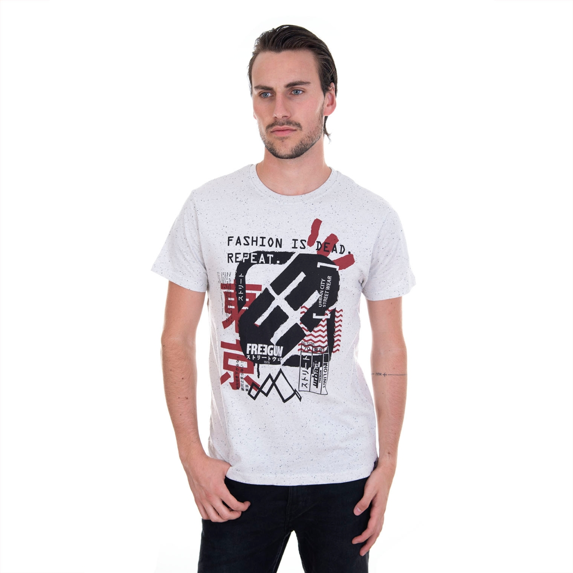 T-shirt homme fashion is dead (photo)