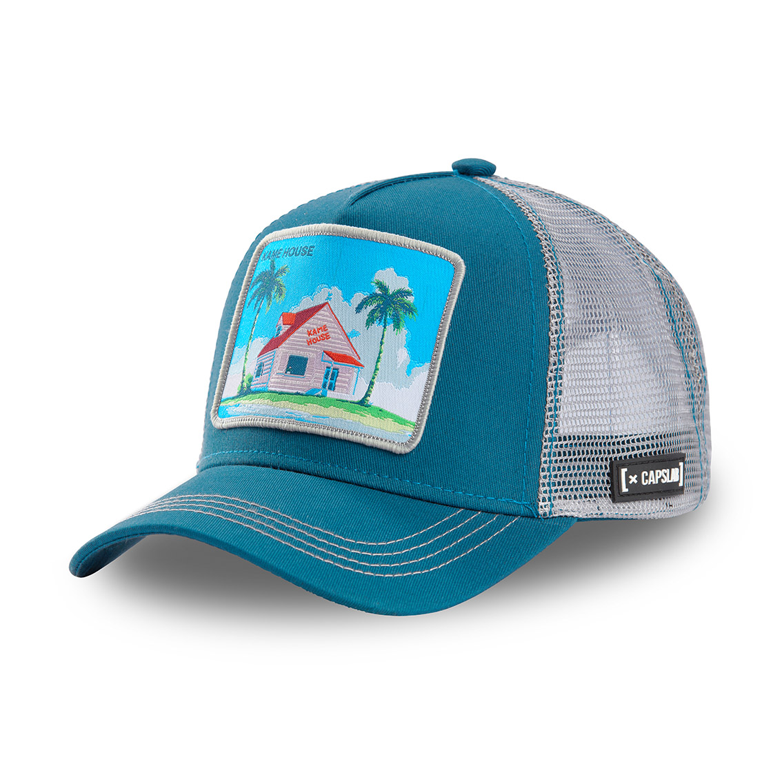 Casquette capslab dragon ball kame house bleu (photo)