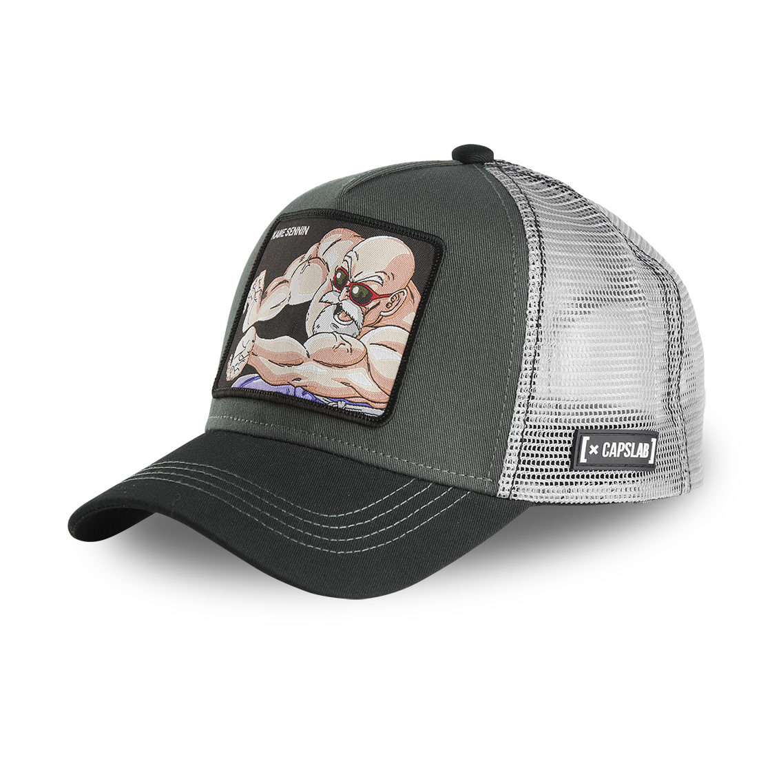 Casquette capslab dragon ball kame sennin gris (photo)