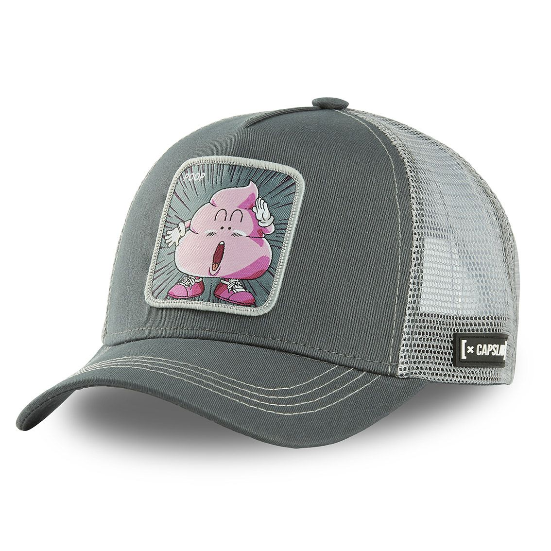 Casquette capslab dr slump poop gris (photo)