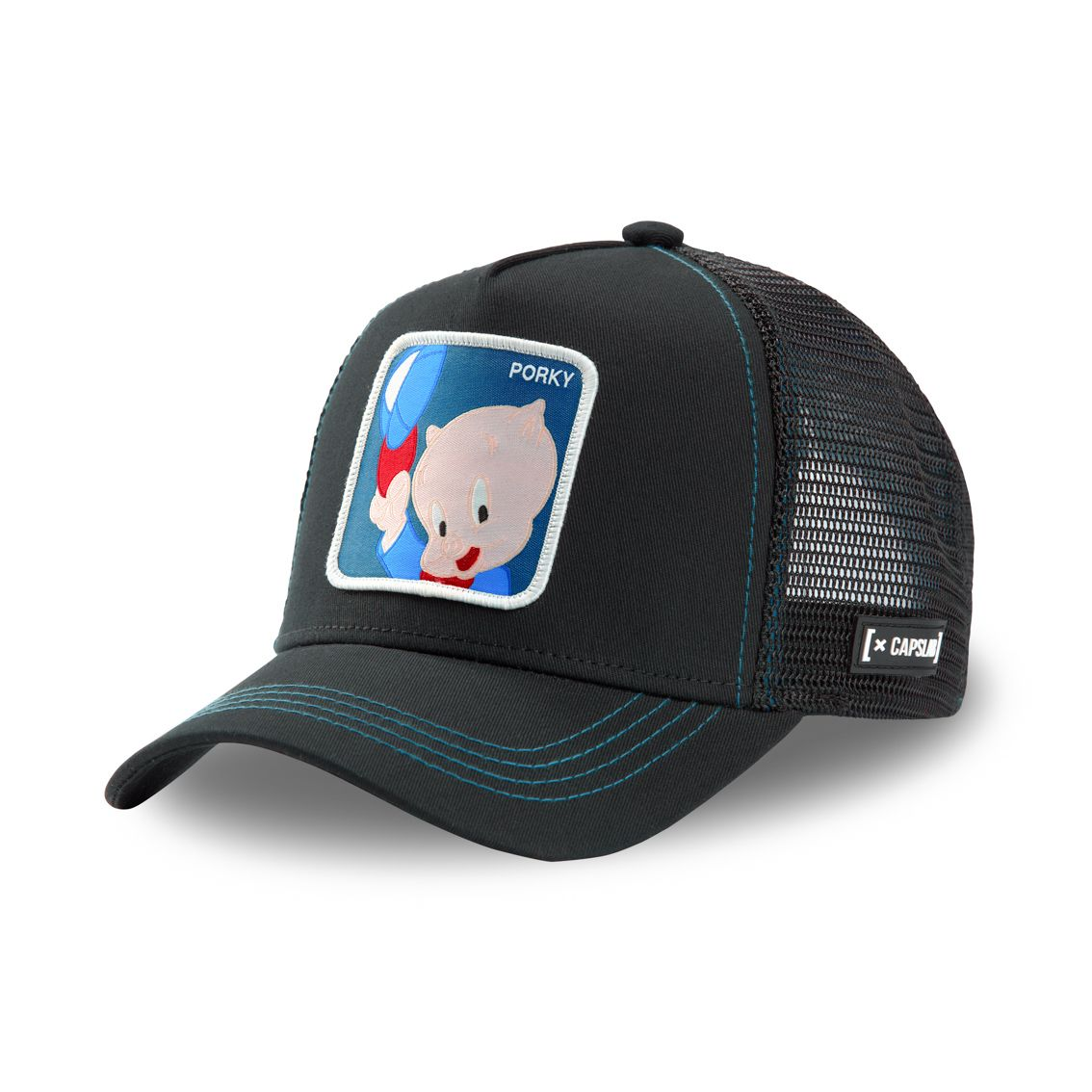 Casquette capslab looney tunes porky noir (photo)