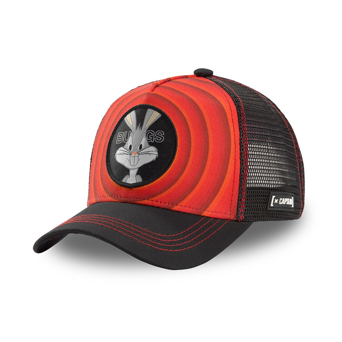Casquette capslab looney tunes bugs bunny rouge (photo)