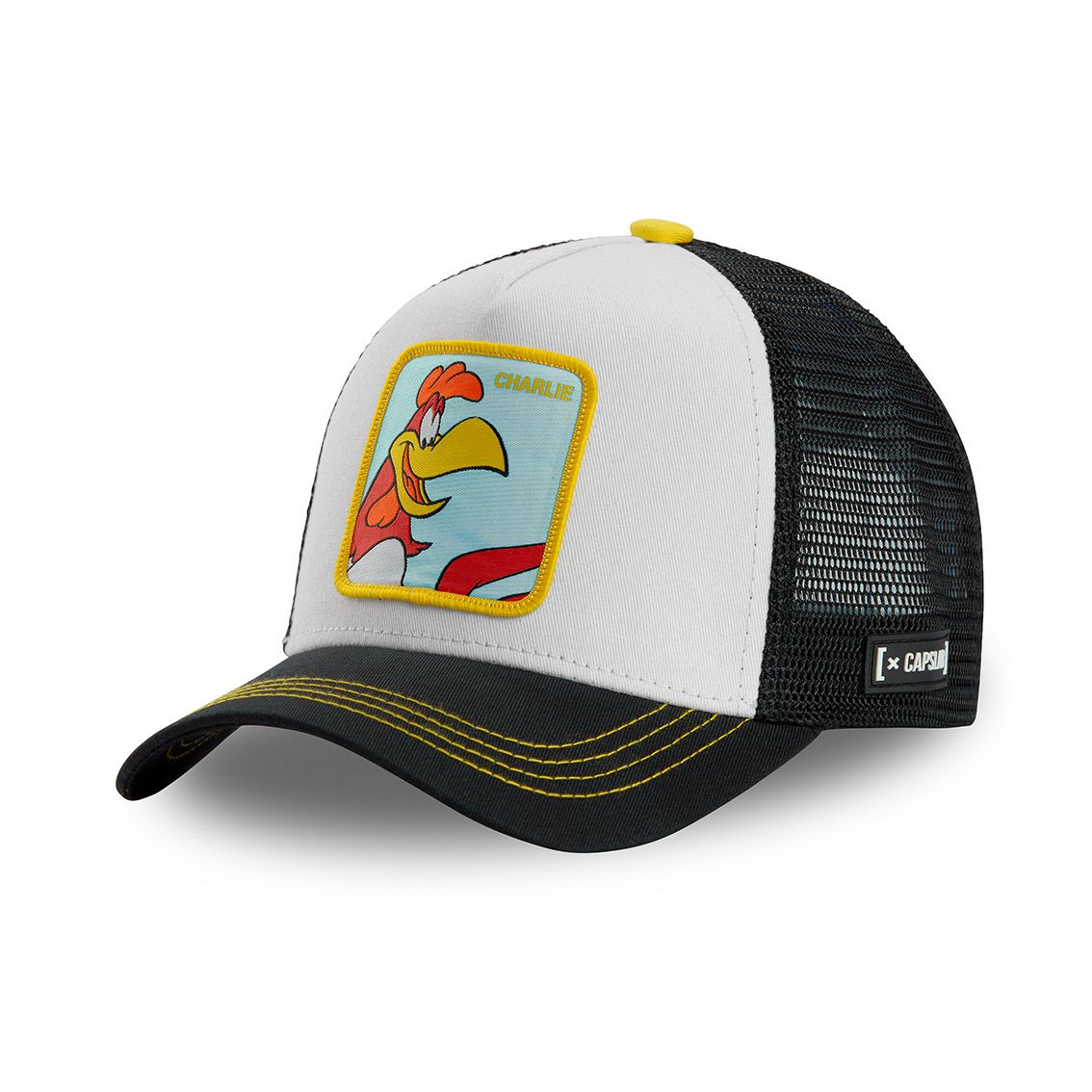 Casquette capslab looney tunes charlie blanc (photo)