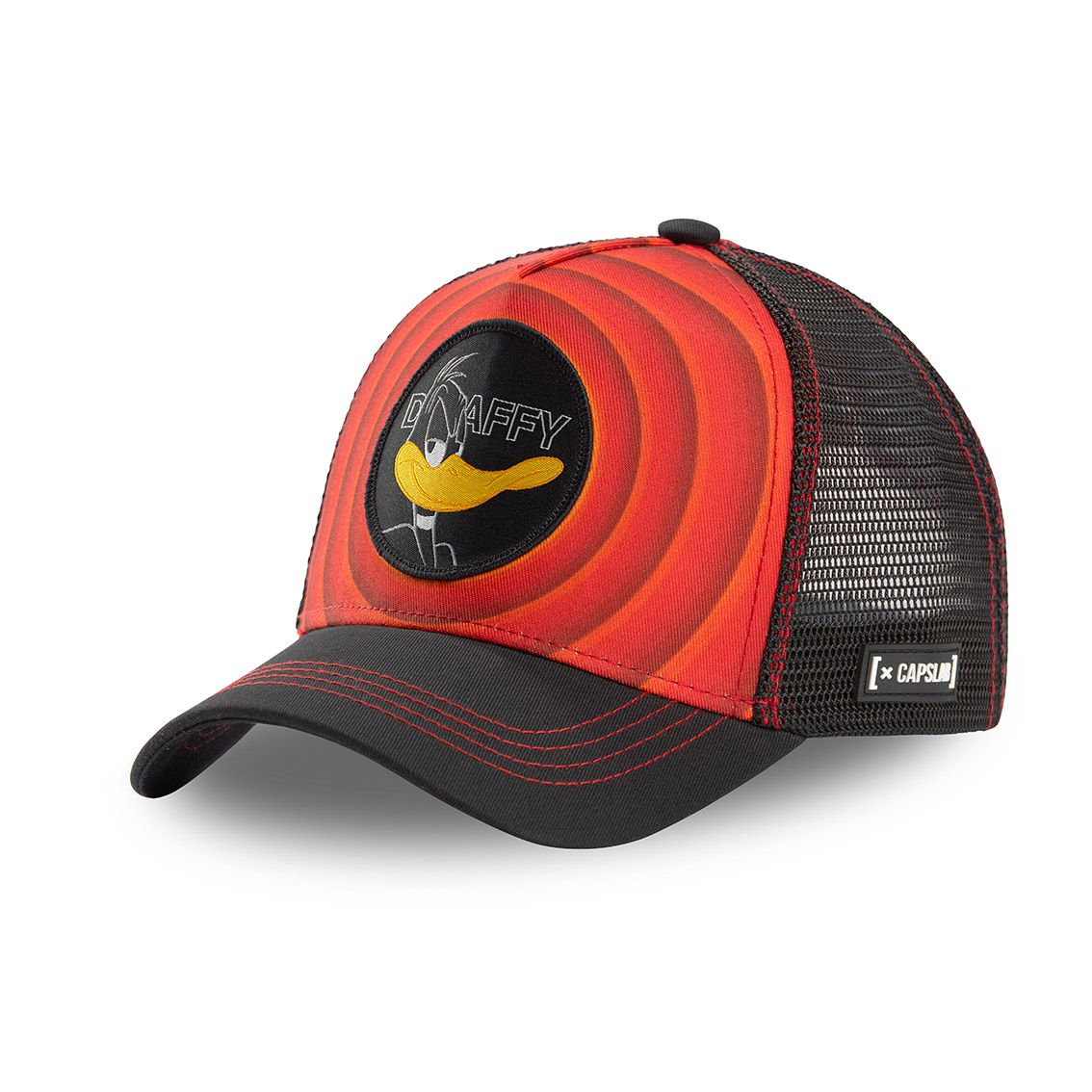 Casquette capslab looney tunes daffy rouge (photo)