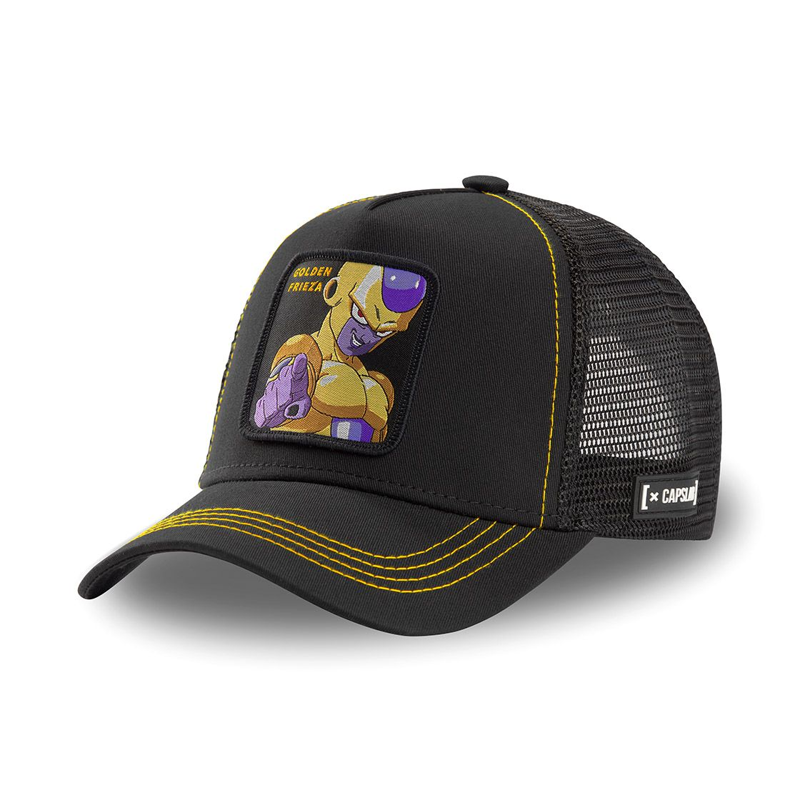 Casquette capslab dragon ball broly golden frieza noir (photo)