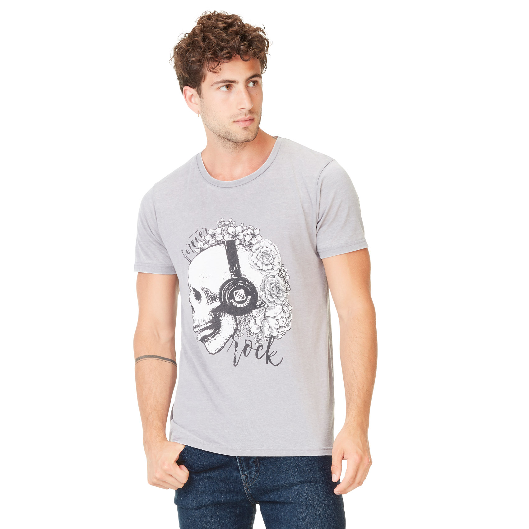 T-shirt homme forever rock (photo)
