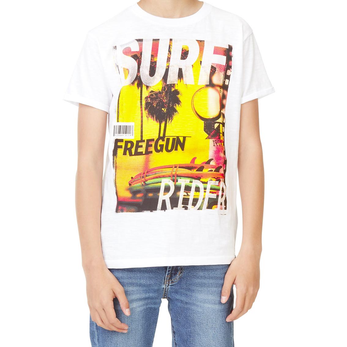 T-shirt homme surf rider (photo)