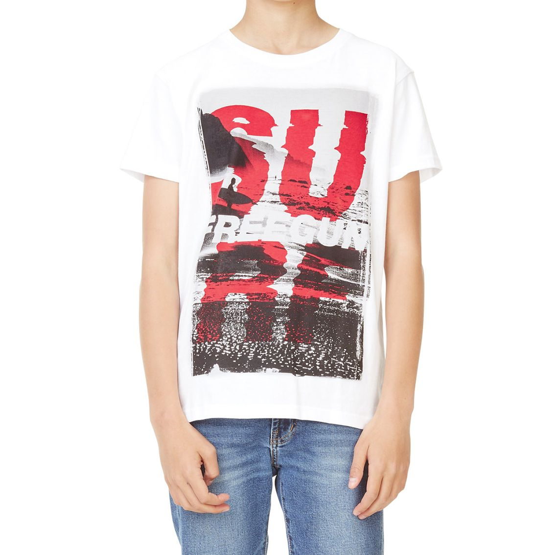 T-shirt freegun homme surf