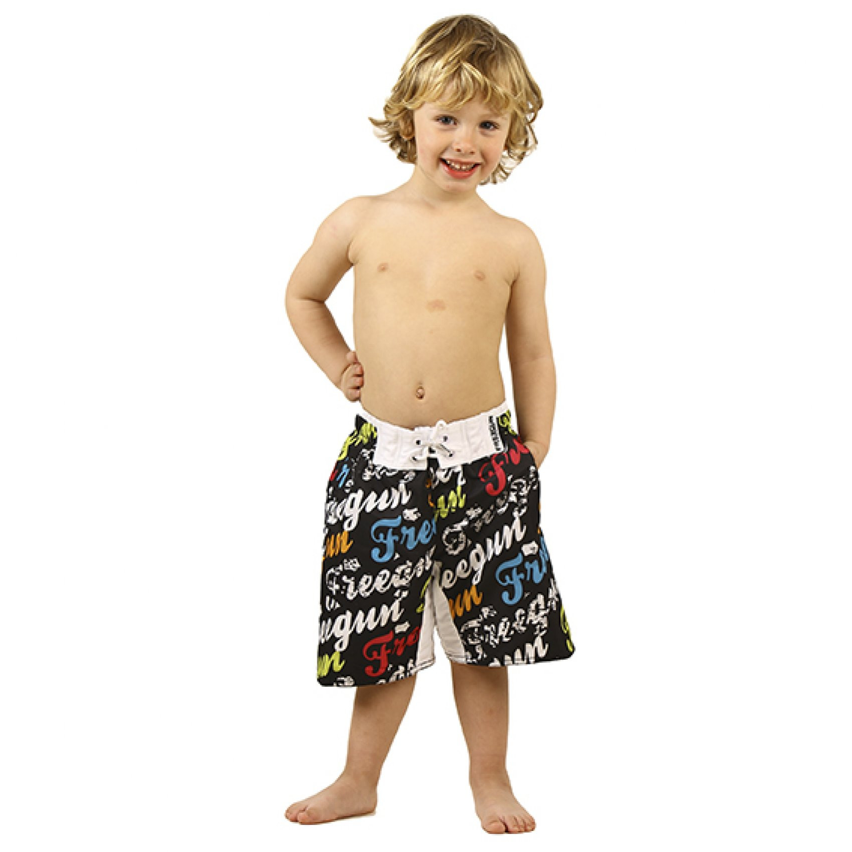 Boardshort garçon babyz corpo (photo)