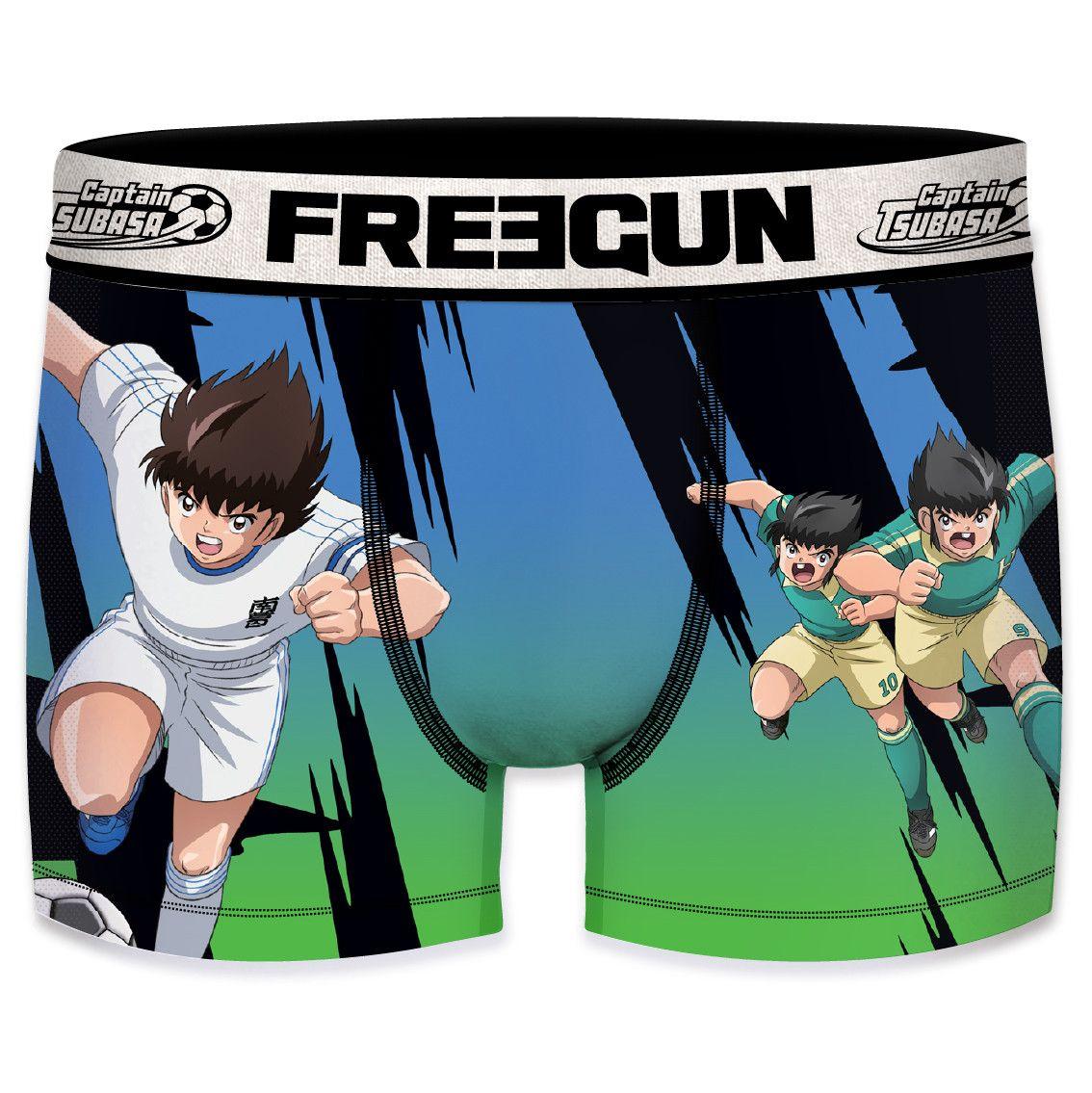 Boxer freegun homme captain tsubasa vs tachibana