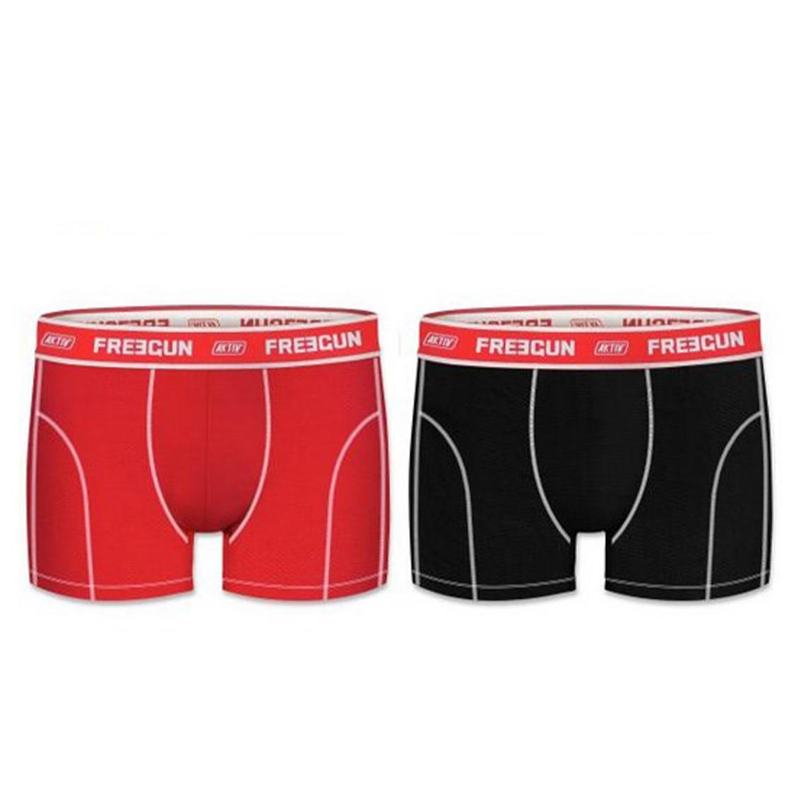 Lot de 2 boxers homme aktiv colors (photo)