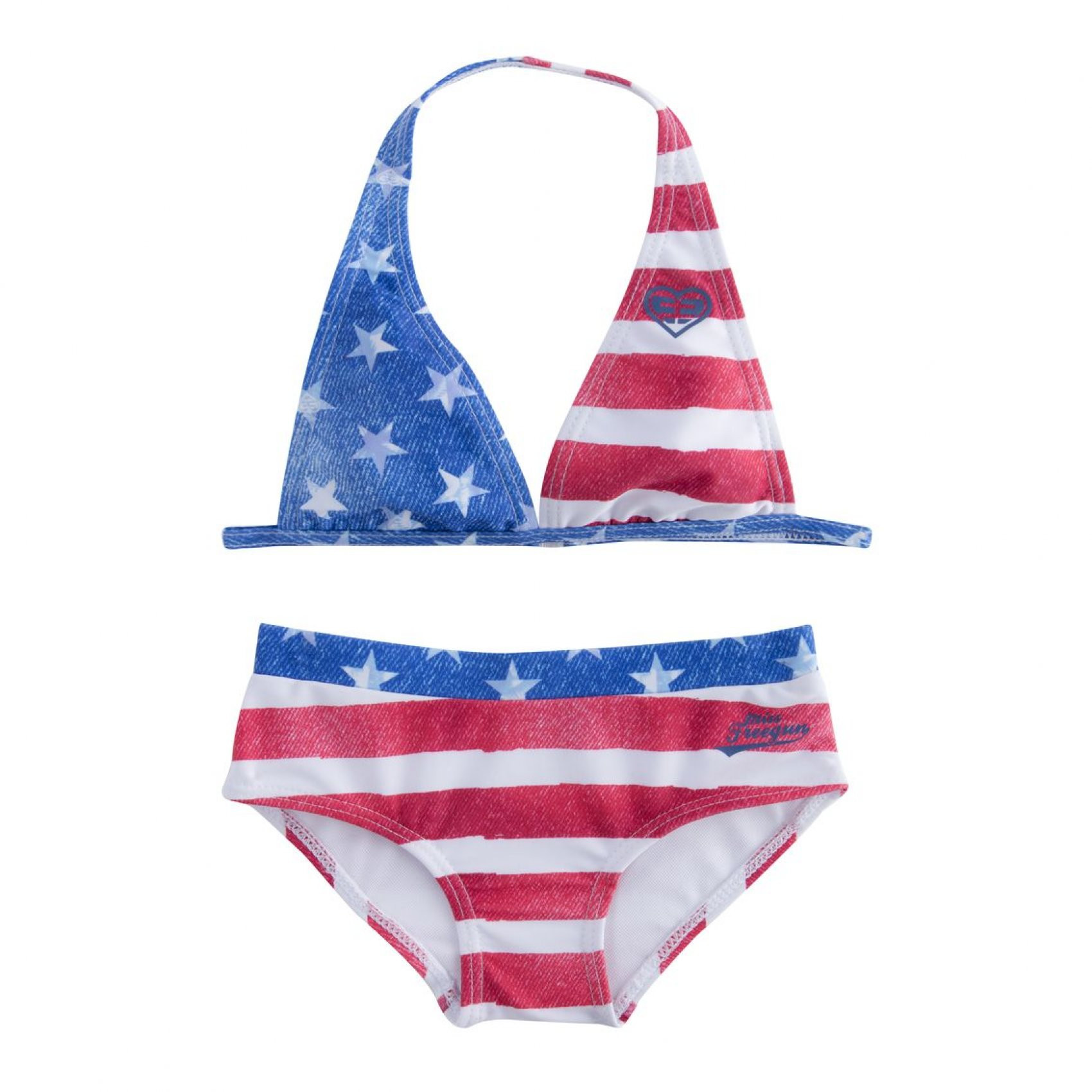 Maillot de bain fillette babyz usa (photo)
